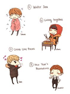 fanart from EXO Showtime
