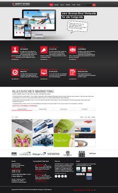 Webdesign CONCEPT STUDIO - Relaunch 2014 - Wir präsentieren uns demnächst im neuen Gewand!