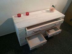 Palettenmöbel Sideboard Shabby Chic Europalette