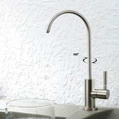Lead Free Stainless Steel Water Filter Faucet