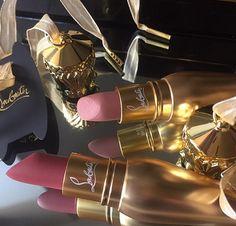 "chanel-and-louboutins: ""Louboutin lipstick "" msmakeupaddict - more makeup here"