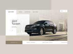 Hyundai Homepage Desktop - Concept 01 designed by Clément Pavageau. Connect with them on Dribbble; Website Design Layout, Layout Design, Audi Website, Web Company, Web Design Examples, Ios, Website Design Inspiration, Advertising Design, Brochure Design