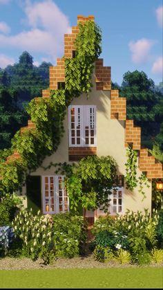Minecraft House Plans, Minecraft Mansion, Easy Minecraft Houses, Minecraft House Tutorials, Minecraft Room, Minecraft House Designs, Minecraft Decorations, Amazing Minecraft, Minecraft Blueprints