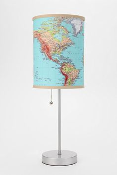 A well-traveled lamp. #urbanoutfitters