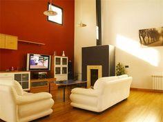 Reformas en Madrid Flat Screen, Windows, Studio, Madrid, Environment, Painted Walls, Houses, Lounges, Interior Design