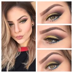 Makeup of the Day: Tertiary by Laanadelrey. Browse our real-girl gallery #TheBeautyBoard on Sephora.com and upload your own look for the chance to be featured here! #Sephora #MOTD
