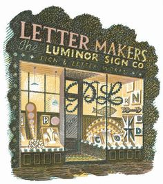 highstreet/Letter Makers - Eric Ravilious