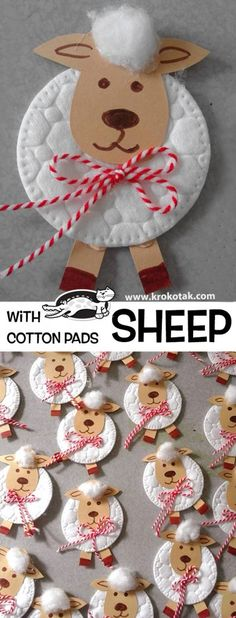 krokotak | Sheep with Cotton Pad
