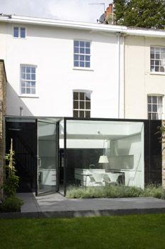 Beautiful glass box extension. www.methodstudio.london