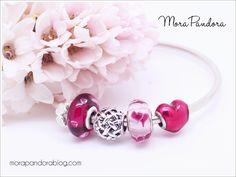 Pandora Valentine's 2017 Cerise Hearts murano
