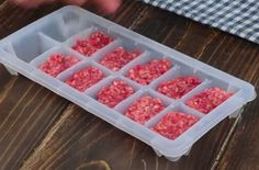 Low Sodium Recipes, Cube, Raspberry, Tray, Fruit, Cooking, Doilies, Food, Kitchen