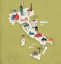 Travel illustration by Martin Haake2 Travel illustrations by Martin Haake