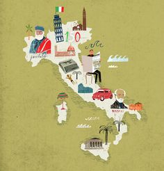 Travel illustration by Martin Haake2