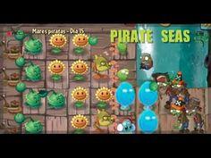 Plants VS Zombies 2 - Mares piratas (Pirate Seas) Día (Day) 15 y 16 Game...