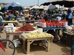 Accra, Ghana: Makola Market