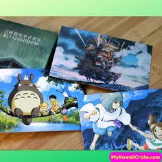 Amerika Miyazaki Hayao My Neighbor Totoro Post Card Pack ~ Cute Fun Cartoon Penpal Cards Briefkaarten