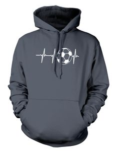 """Pick your favorite style: Do you love soccer so much? Now you can show it with this super cool """"Soccer Heartbeat"""" design! - Guaranteed safe and secure checkout via Amazon / VISA / MASTERCARD. - Buy 2"""