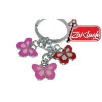 Луксозен ключодържател с пеперудки - страхотно решение за подарък на Вашата любима...