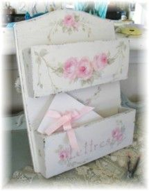 Romantic French Country Letter Holder