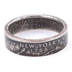 New York State Quarter Ring, $35, now featured on Fab.