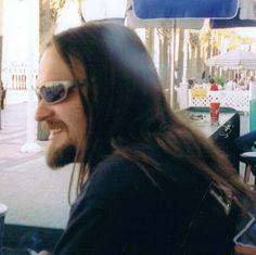 Me in Daytona many years ago! (hippy)