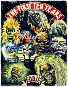 Iron Maiden - Eddie, The First 10 Years