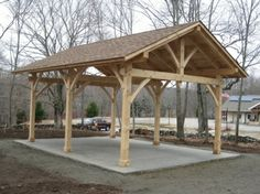 Pergolas On Pinterest Post And Beam Pavilion And Pergolas
