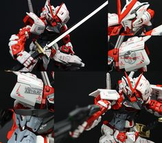 GUNDAM GUY: RG 1/144 Gundam Astray Red Frame - Painted Build