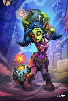 #hearthstone #warcraft #gobelin #goblin