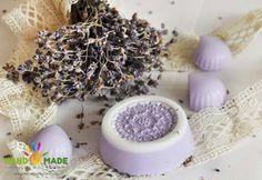 Я очень люблю нежные ароматы и красивые вещи. И сегодня хочу поделиться с Вами секретом изготовления вот такого необычного мыла с ароматом лаванды.