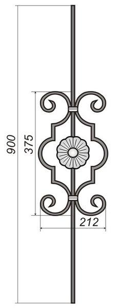 Балясины :: Наши работы :: ООО «Вигор» - Художественная ковка в Челябинске Metal Gates, Wrought Iron Gates, Railing Design, Gate Design, Metal Grill, Steel Art, Canopy Design, Iron Furniture, Iron Art