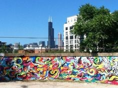 Where to Take Engagement Photos in Chicago - pilsen murals Chicago