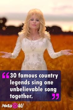 For the First Time, 30 Famous Country Legends Sing One Unbelievable Song Together