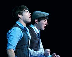 Ben looks like he's singing 'Let it Go' and Corey's all like, 'No, Ben, don't.'