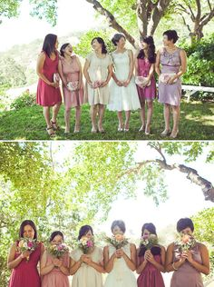 Pick 'n' Mix your Bridesmaid Dresses! The Mix Match Wedding Trend