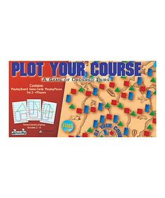This Plot Your Course Board Game is perfect! #zulilyfinds