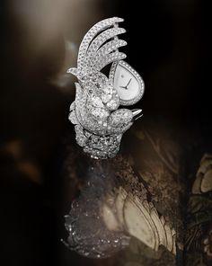 "f7fdd9333844f4 ""Vol suspendu"" montre  Chanel  ChanelJoaillerie  Coromandel  2018   FineJewellery  HighJewelry  HauteJoaillerie  Diamond"