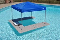 What a great idea! A floating bar! >> Well that is a whole lotta awesome!