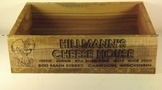 Cheese house shipping cratePersonalized by GWCcakepans on Etsy, $25.00