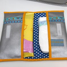 Luieretui zelf maken Jip by Jan tutorial Diaper and wipes holder