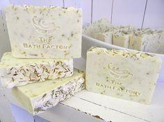 Coconut Lemongrass - Handmade Soap from The Bath Factory Soap Store in Hot Springs, Arkansas