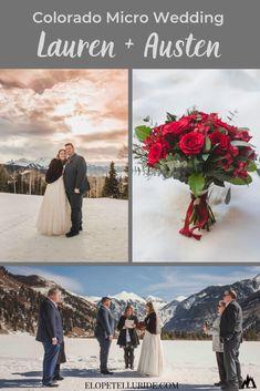 Real Life Colorado Micro Wedding | Lauren