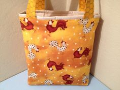 Chickens Gift Tote Bag Gift Wrap Wrapping Paper by HugsandHolidays, $10.00