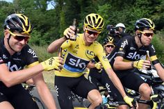 Chris Froome on stage 21 of the 2016 Tour de France