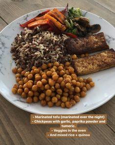 Vegan Dinner Recipes, Vegan Dinners, Vegetarian Recipes, Cooking Recipes, Healthy Recipes, Healthy Snacks, Healthy Eating, Food Combining, Morning Food
