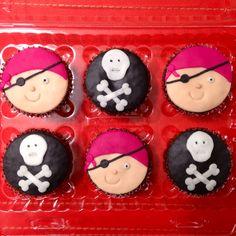 ¡Piratas! #cupcakes