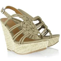 Just bought these - love them!  cute and comfy!!!!     MIA love knot stone wedges