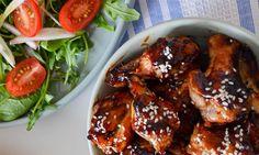 Slik lager du sticky teriyaki-kylling | EXTRA -