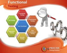 Functional testing is provided by precise testing solution. Functional testing is a major part of software testing .Precise testing solution uses the proper flow of Parato chart so that it will not affect your service and revenue. White Box Testing, Functional Testing, Software Testing, Use Case, Flow, Engineering, Product Launch, Coding