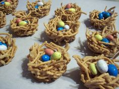 Easter birds nest recipe...sooo easy!